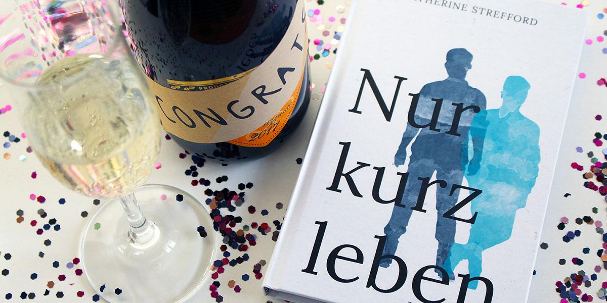 """Mein Debütroman """"Nur kurz leben"""" ist da!"""