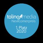 Platz 1 beim tolino media Newcomerpreis 2020