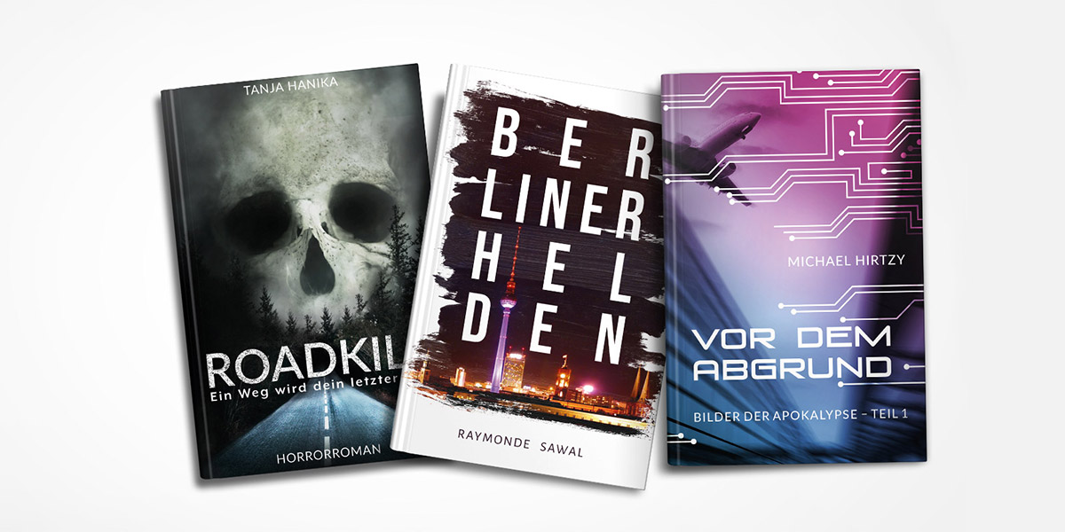 Buchdesign: Cover, Buchsatz, Werbemittel
