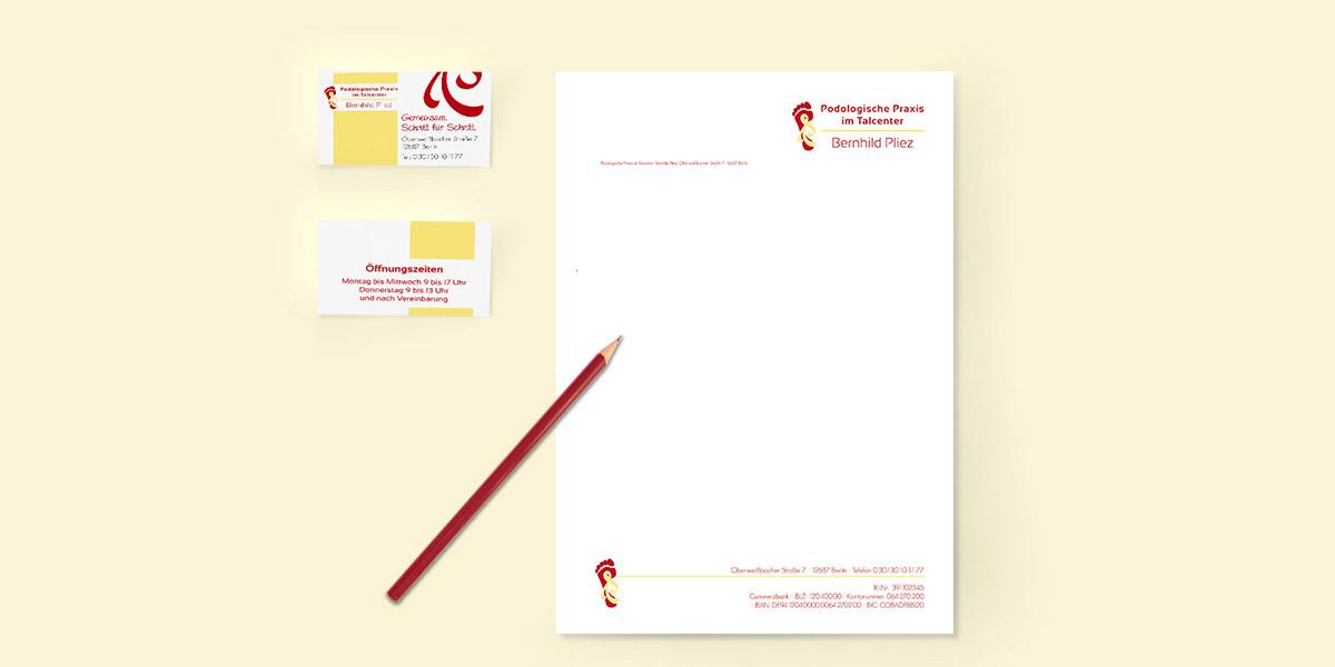 Grafikdesign: Geschäftspapiere, Werbemittel, Logogestaltung